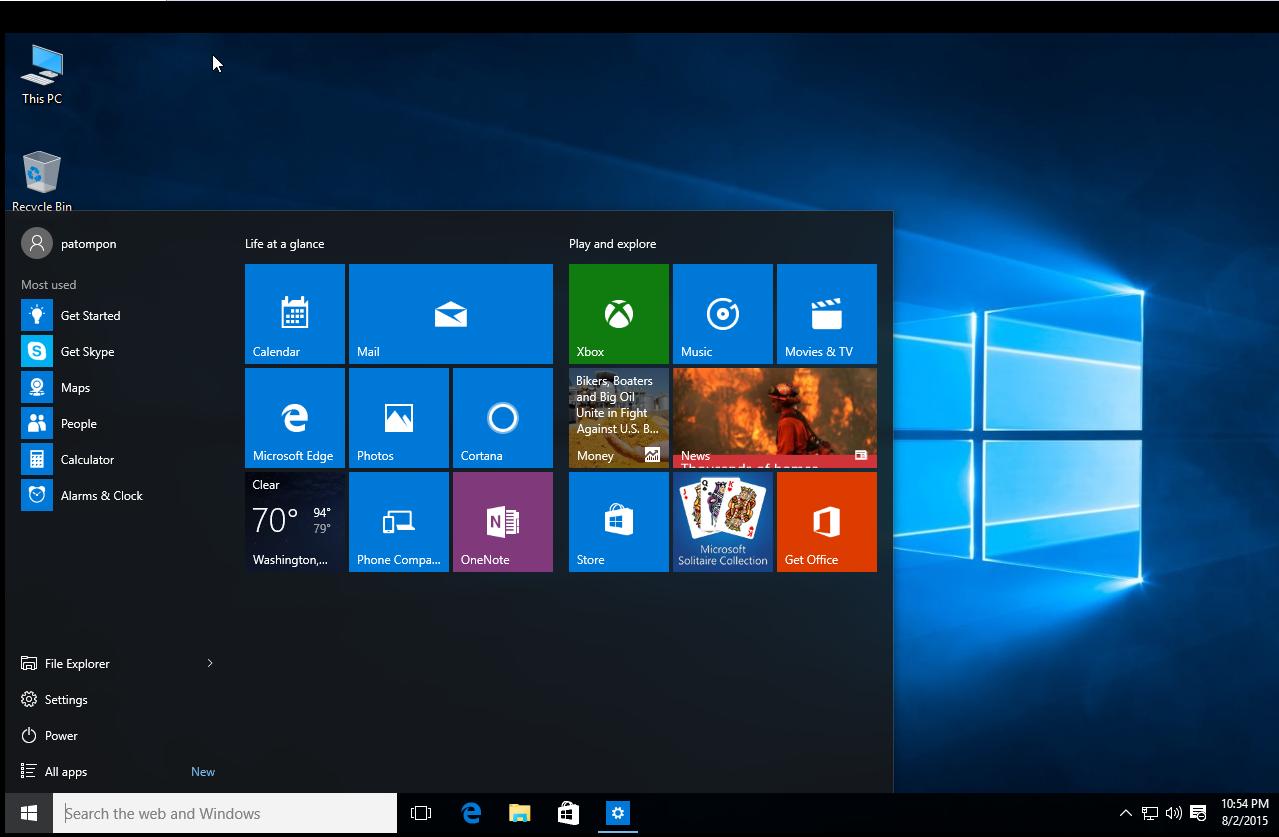 windows เถื่อน update
